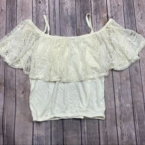 🌟3 FOR $35🌟Frenchi crop top